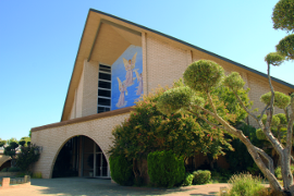 Photo of the front of Sacramento Central Seventh-day Adventist Church