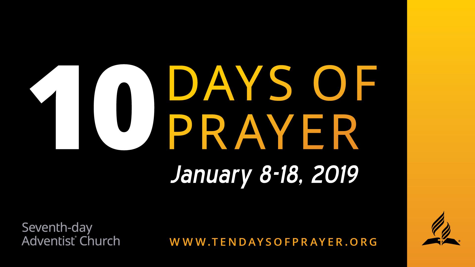 10 days of prayer 2019 sacramento central seventh day adventist church