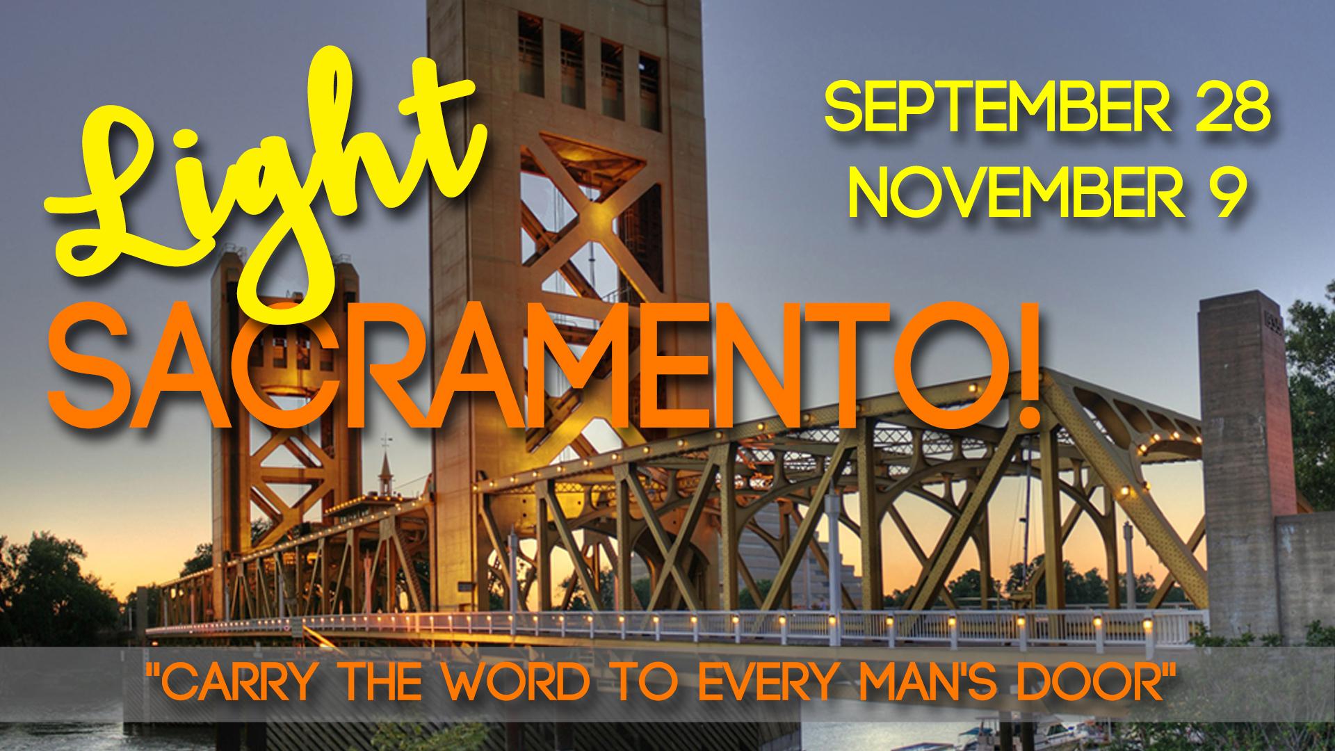 Light Sacramento!