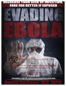 Join Us For Evading Ebola Seminar