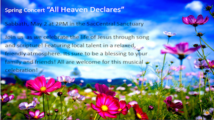Annual Spring Concert: All Heaven Declares