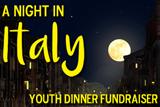 Night In Italy. Youth dinner fundraiser.