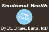 Free class: Emotional Health by Dr. Daniel Binus