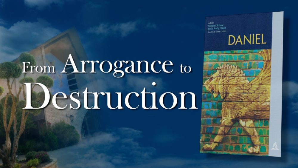 Daniel: From Arrogance To Destruction (6 of 13) Image
