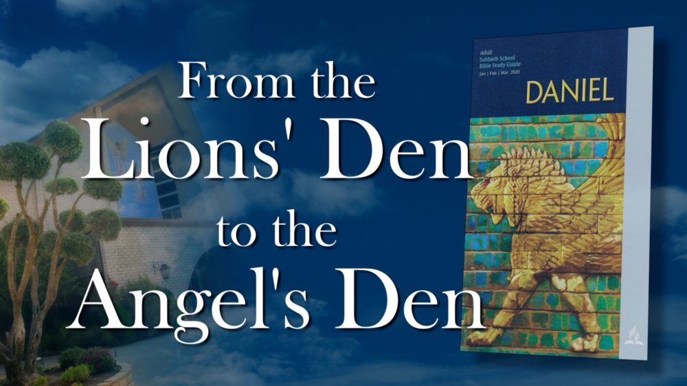 Daniel: From The Lion's Den To The Angel's Den (7 of 13) Image