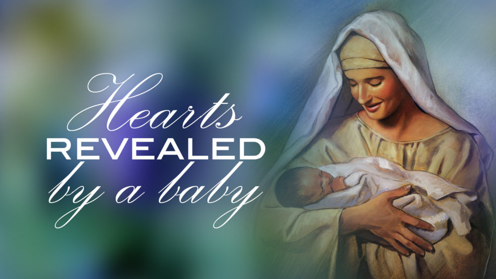 Hearts Revealed By A Baby