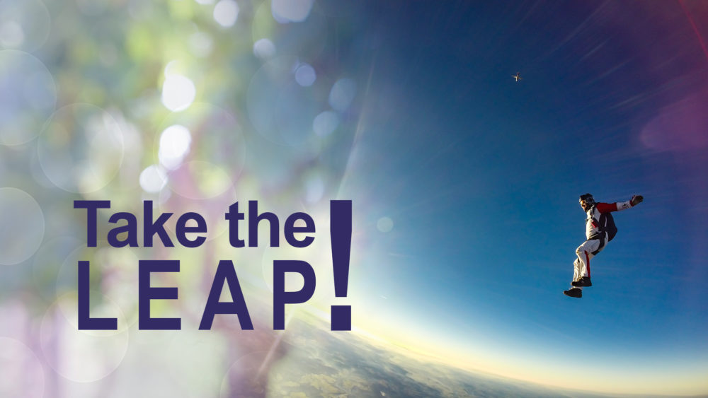 What Matters Most: Take The Leap! (5 of 5)