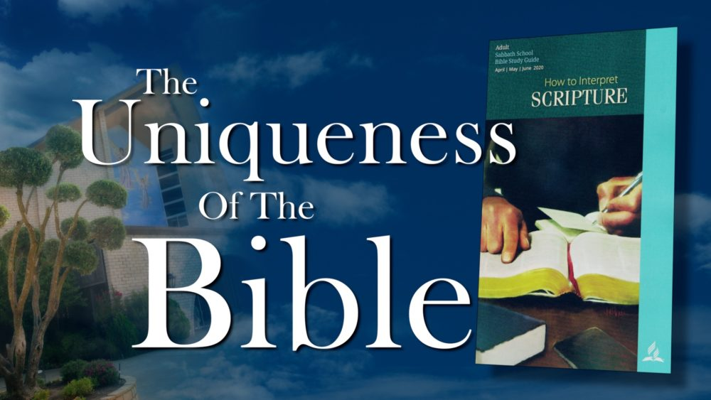 The Scriptures: The Uniqueness Of The Bible (1 of 13) Image