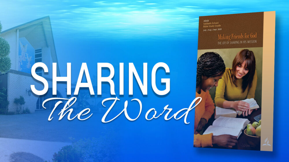 Making Friends for God: Sharing The Word (7 of 13) Image