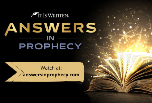 Answers in Prophecy Slide 492x336