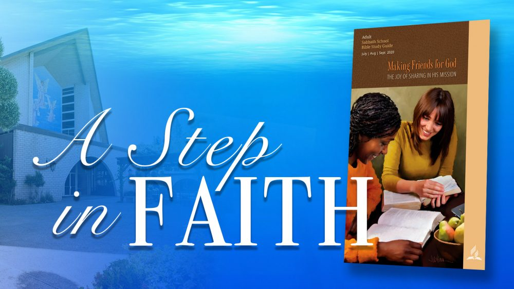 Making Friends for God: A Step Of Faith (13 of 13)