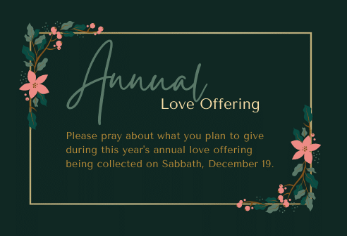 Annual Love Offering 2020 492x336