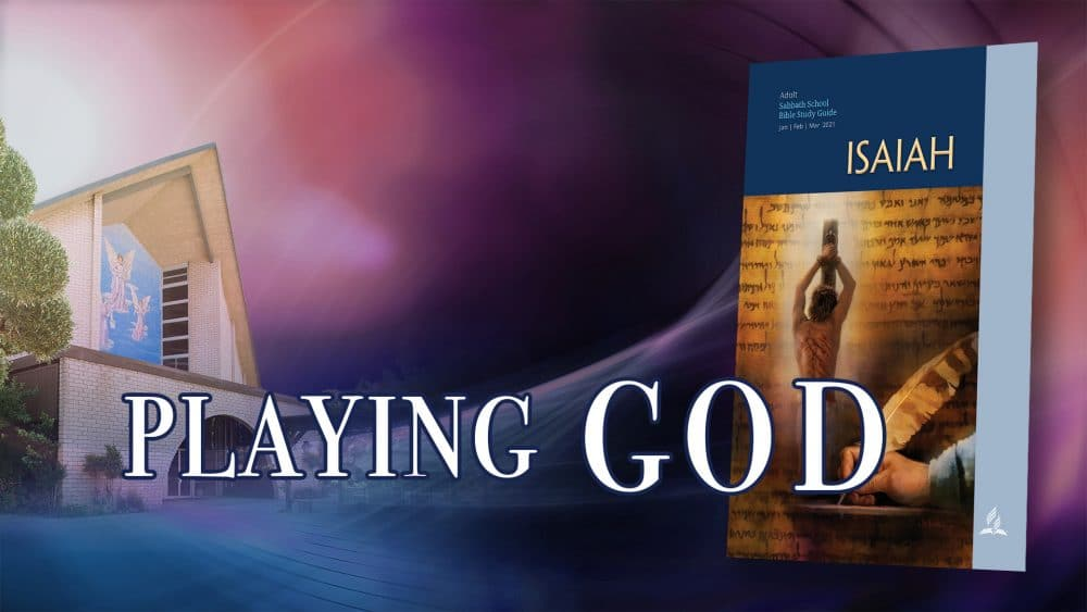 "Isaiah: ""Playing God"