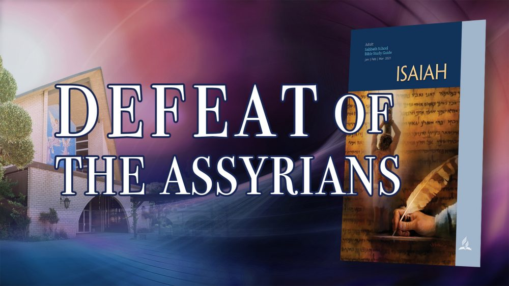 """Defeat Of The Assyrians"