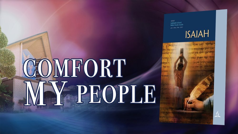 "Isaiah: ""Comfort My People"" (8 of 13) Image"