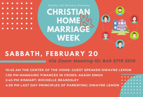 Christian Home & Marriage Week Slide 492x336 2-20-21