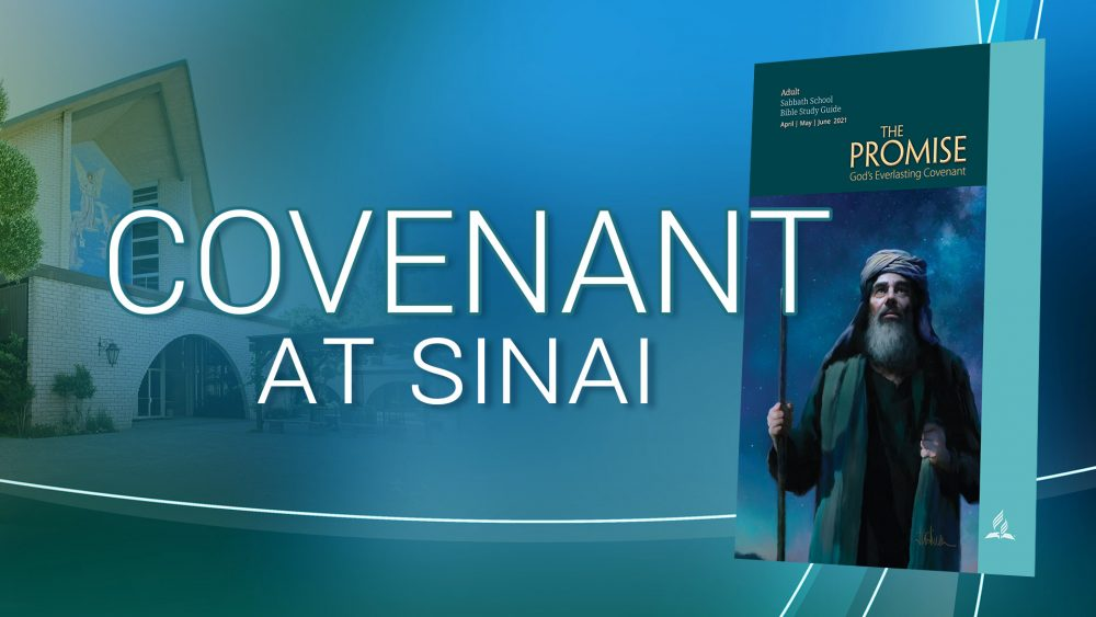 """The Promise: """"Covenant At Sinai"""" (7 of 13) Image"""