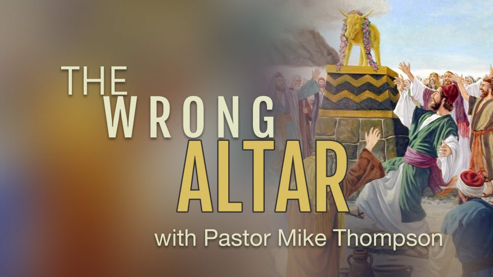 The Wrong Altar Image