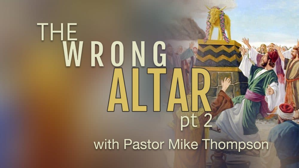 The Wrong Altar, part 2
